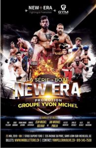 Mon « Poing » de presse gala New Era fighting and promotion